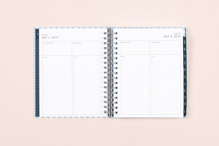 "2019-2020 Dabney Lee for Blue Sky ""Cane"" 7 x 9 Daily Hardcover Planner"