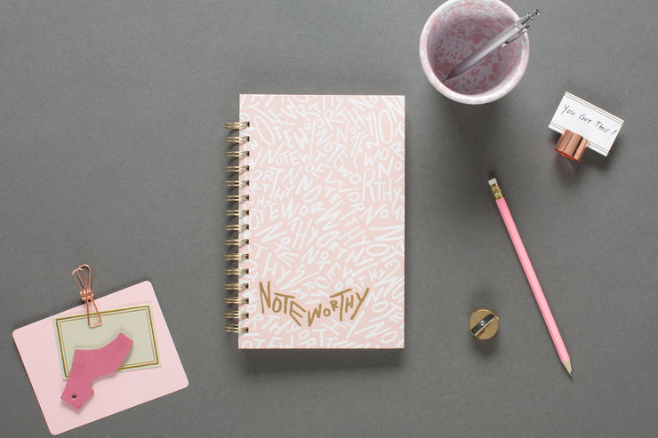 "2019-2020 Noteworthy™ ""Graffiti"" 5 x 8 Weekly Hardcover Planner Notebook"