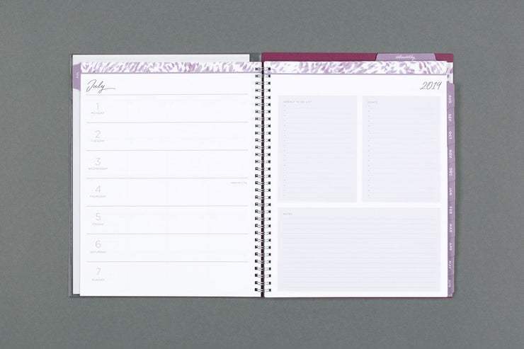 "2019-2020 Noteworthy™ ""Krystal"" 8.5 x 11 Weekly CYO Planner Notebook"