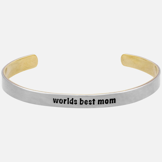 Worlds Best Mom Cuff