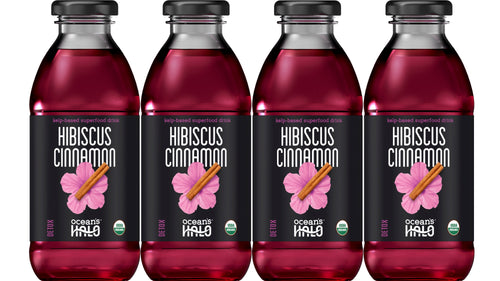 Organic Hibiscus Cinnamon Deep Ocean Water Drinks