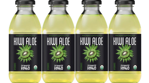 Organic Kiwi Aloe Deep Ocean Water Drinks