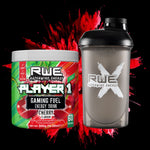 PLAYER 1 GAMING FUEL CHERRY AND RECON SHAKER BUNDLE PACK