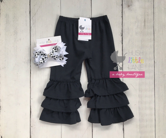 {PANTS} Truffle - Black