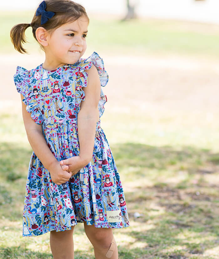 Queen of hearts Pinafore dress