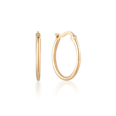 Erin Hoops Rose Gold