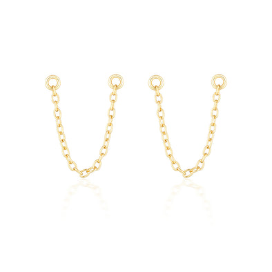 Bel Earring Chain Gold
