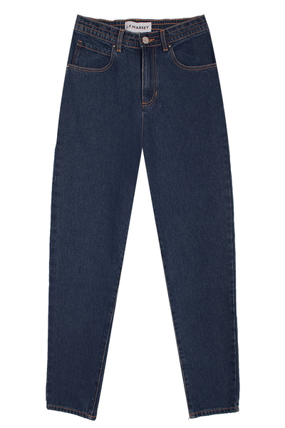 Johnny Elasticated Jeans Dark Wash