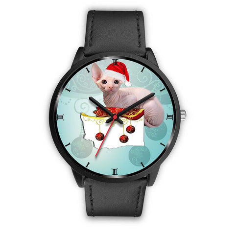 Sphynx Cat Washington Christmas Special Wrist Watch-Free Shipping