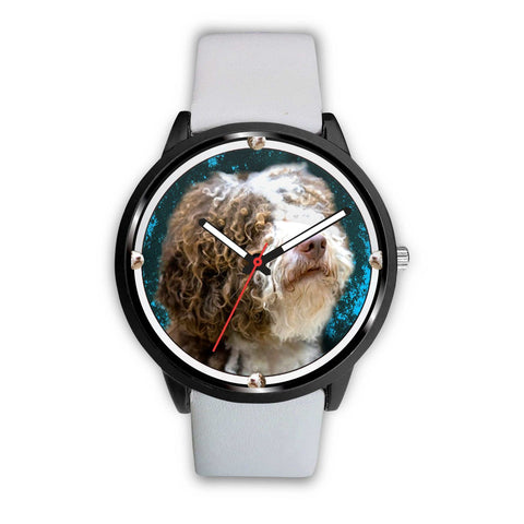 Amazing Spanish Water Dog Print Wrist Watch - Free Shipping