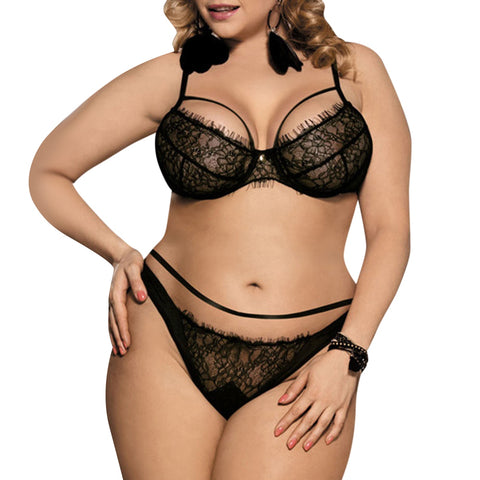 Plus Size Bra Set