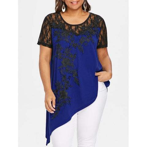 Halloween-Plus Size Tops