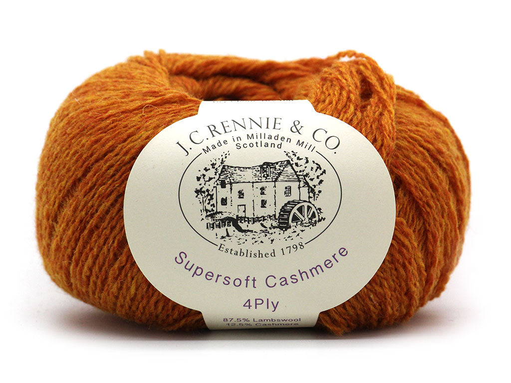 Supersoft Cashmere 4ply - Hephaestus 105