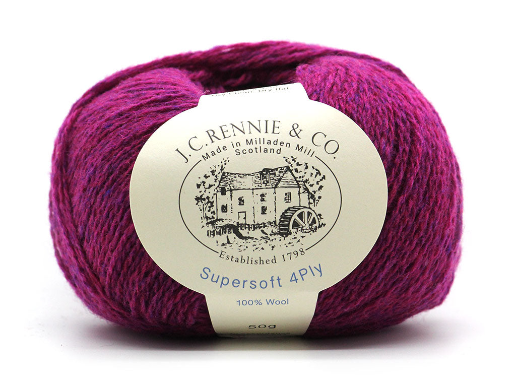 Supersoft 4ply - Amaranth Mix 2144