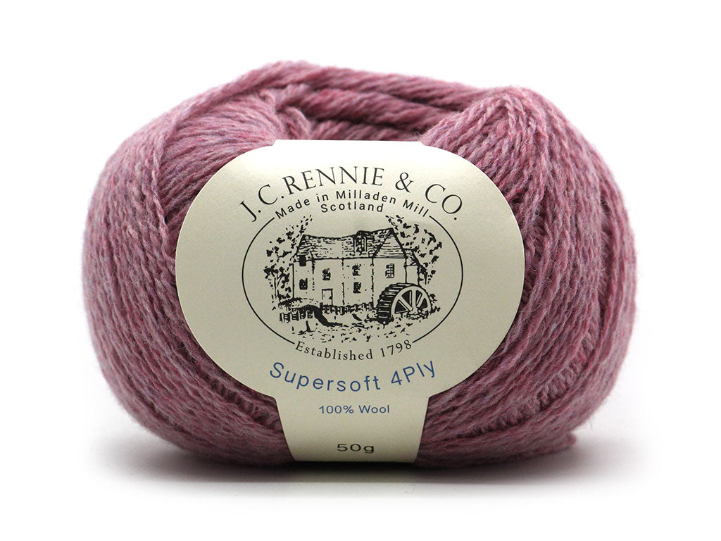 Supersoft 4ply - Heather Orchid 2024