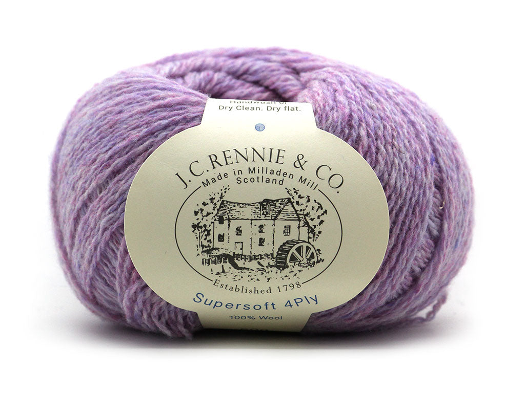 Supersoft 4ply - Heather Rose 2124