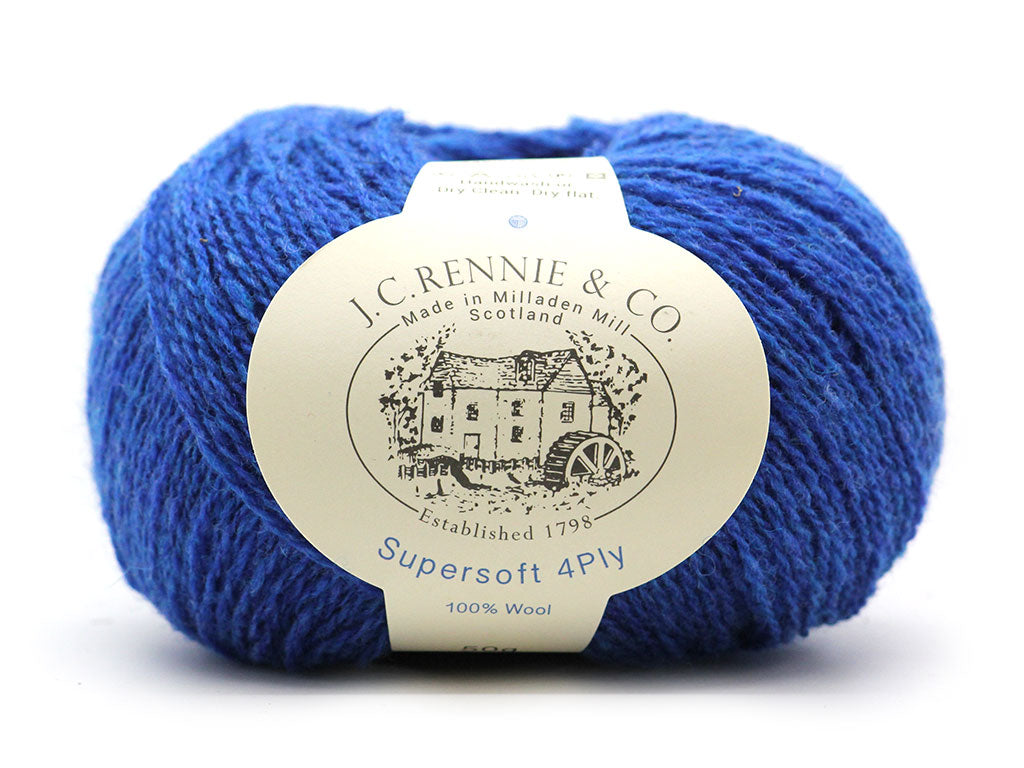 Supersoft 4ply -  New Bright Blue 1404