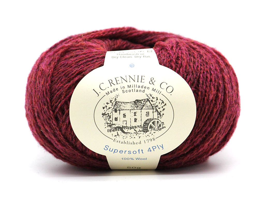 Supersoft 4ply - Redcurrant 094