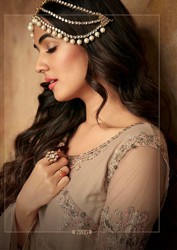 7205 Maisha Aafreen Vol 2 - Unstitched - Indian Partywear Dress Collection - Memsaab Online