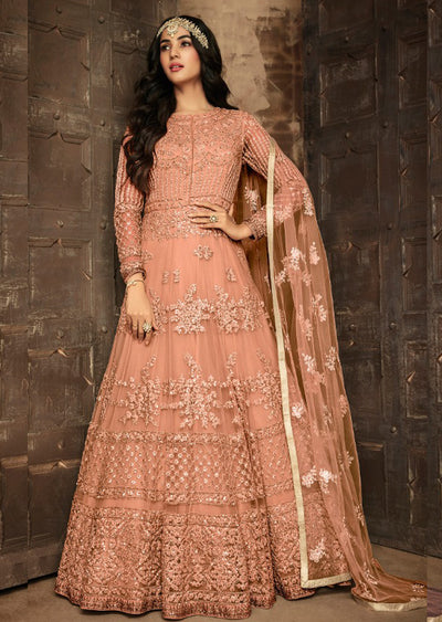 7201 - C - Maisha INSPIRED / REPLICA Aafreen Vol 2 - Unstitched - Indian Partywear Dress Collection - Memsaab Online