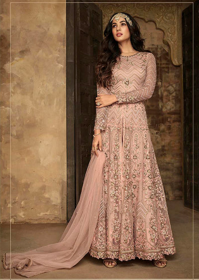 7207 - A - Maisha INSPIRED / REPLICA Aafreen Vol 2 - Unstitched - Indian Partywear Dress Collection - Memsaab Online