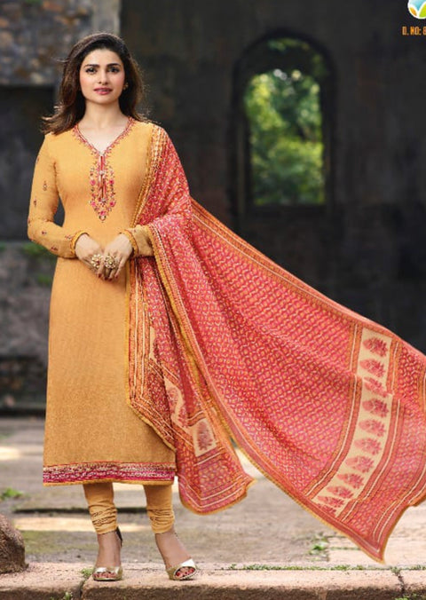 8343 Silkina Royal Crepe 18 Replica - Memsaab Online