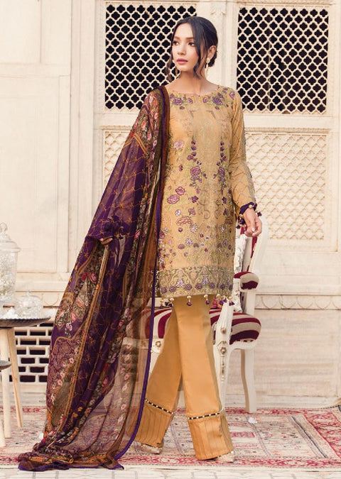 GL-10 - Regal Dynasty - Unstitched - Gulaal Lawn Collection Volume 2 - pakistani Designer lawn collection ORIGINAL - Memsaab Online