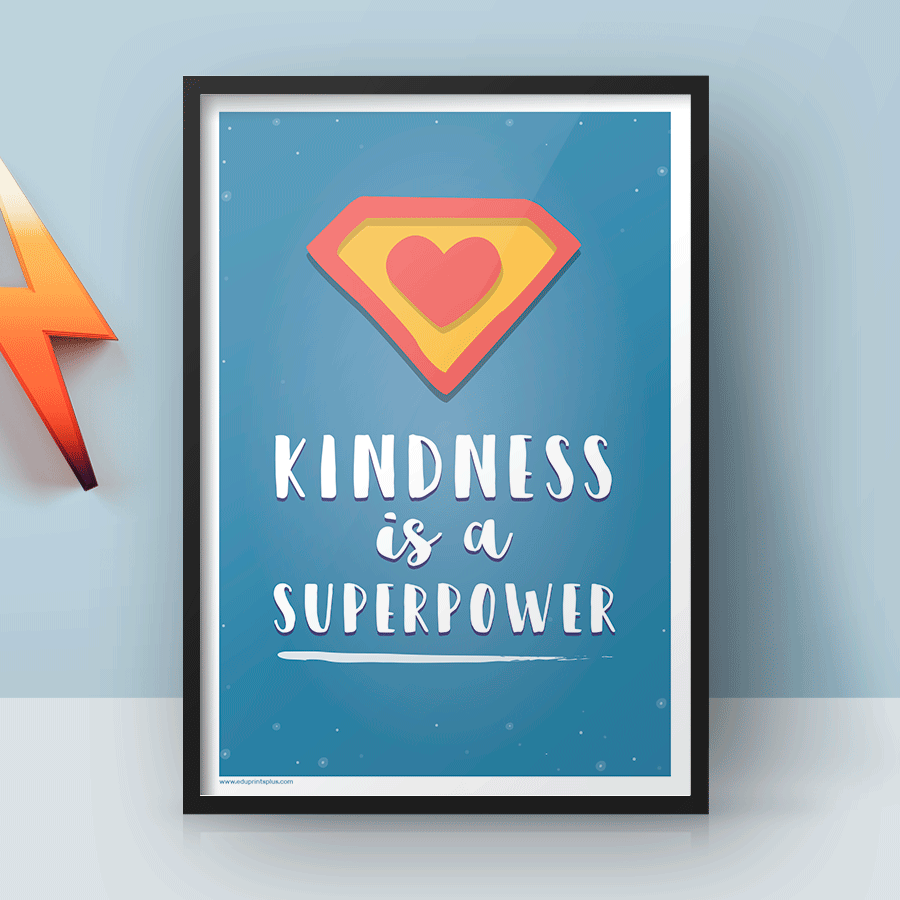 Kindness is a superpower