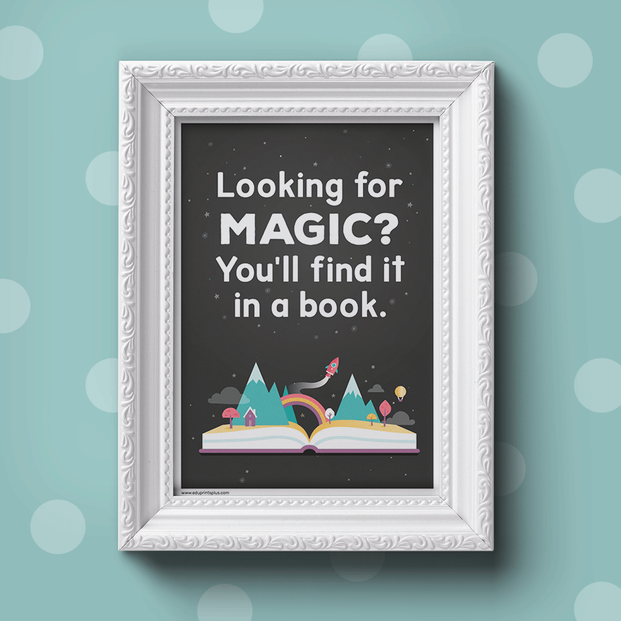 Looking for magic? You'll find it in a book.