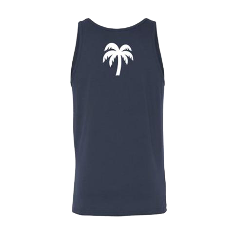 Men's Navy Blue Keep The Vibe Alive Tank - Darty Co.®