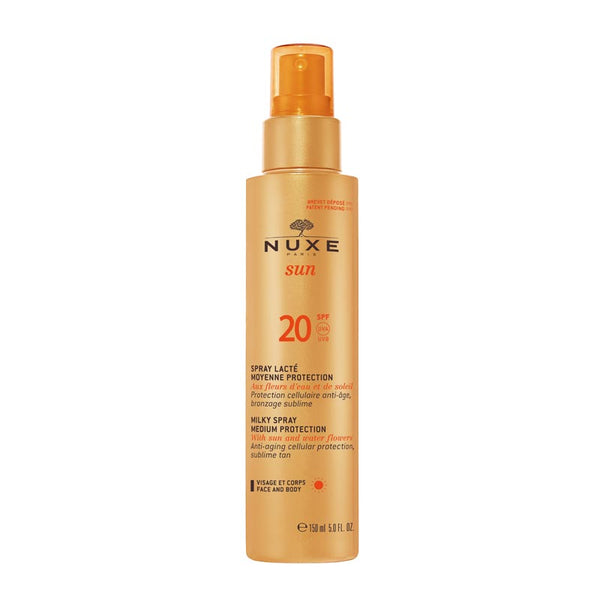 NUXE Sun Milky Spray Face & Body SPF20