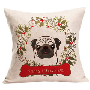 Christmas Pet Cushion Cover