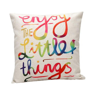 Enjoy Little Things Cushion Cover