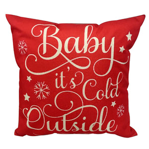 Its Cold Quote Cushion Cover