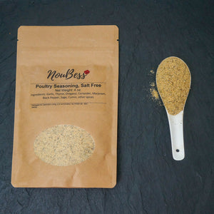 Poultry Seasoning, salt-free - NouBess