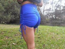 Load image into Gallery viewer, TSIR D-LUXE Tie Up Scrunch Shorts
