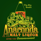 Anaconda Malt Liquor Crewneck Sweatshirt
