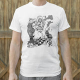 Alice In Wonderland T-Shirt (Mens)