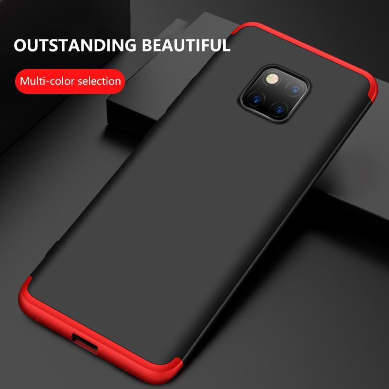 3 in 1 Huawei Mate 10 Lite Pro,Mate 9,Mate 9 Pro,Mate 20,Mate 20 Pro Double Dip 360°Full Cover Protection Hard PC Protective Case