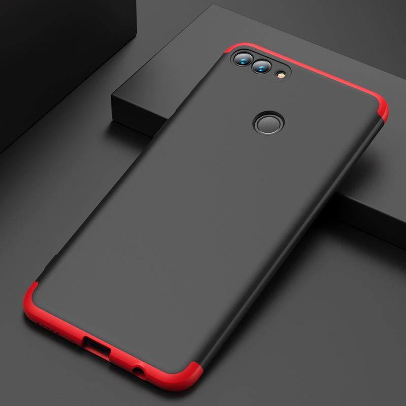 3 in 1 Huawei Y7(2018)/Y9(2018) Double Dip 360°Full Cover Protection Hard PC Protective Case