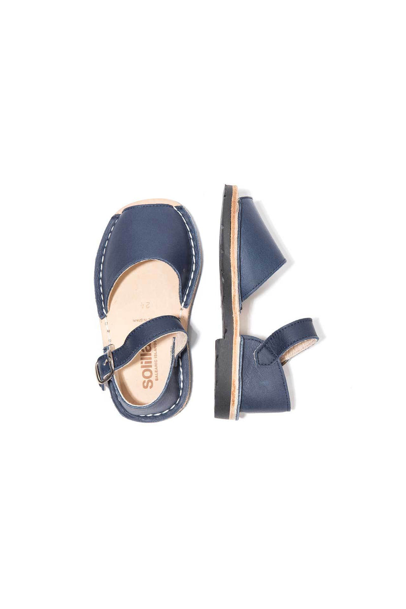 Marina - Leather Buckle sandals