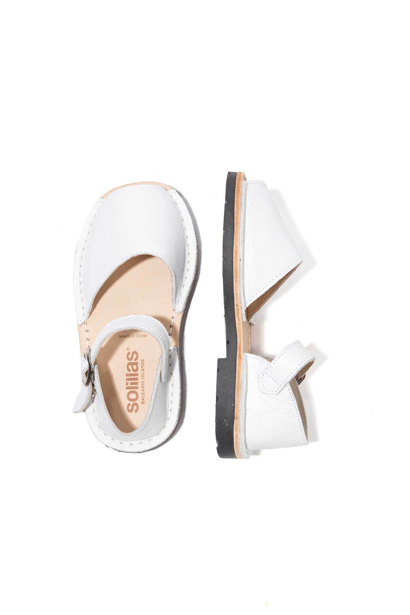 Blanco - Leather Buckle sandals