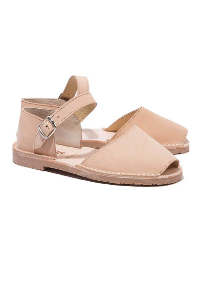 Playa - Nubuck Leather Buckle sandals