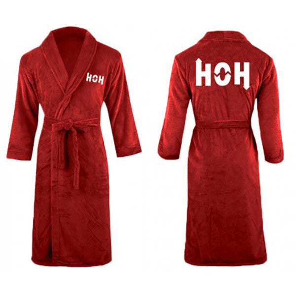 Big Brother HOH Luxury Embroidered Robe | Official CBS Entertainment Store