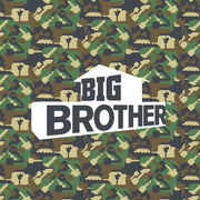Big Brother Camo Hidden Key Sherpa Blanket