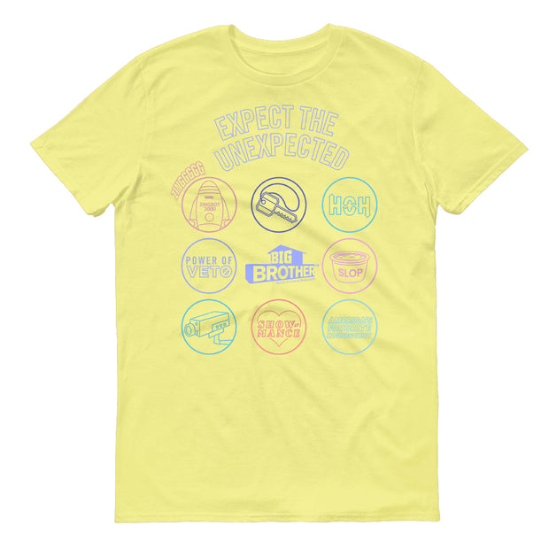 Big Brother Logo Mash Up Adult Short Sleeve T-Shirt | Official CBS Entertainment Store