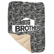 Big Brother Camo Hidden Key Sherpa Blanket | Official CBS Entertainment Store