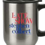 The Late Show with Stephen Colbert Stainless Steel Travel Mug | Official CBS Entertainment Store