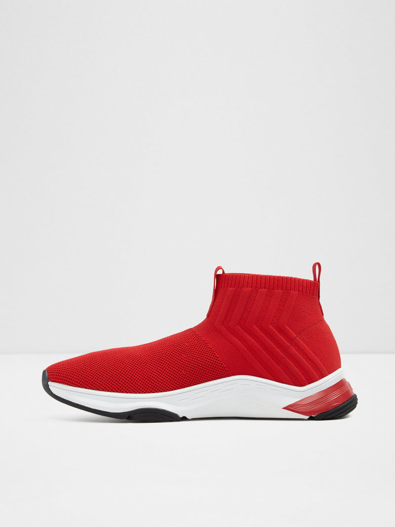Aldo Red Elasticated Trainers