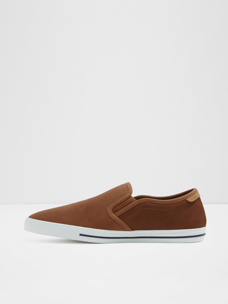 Aldo Maroon Slip-on Trainers